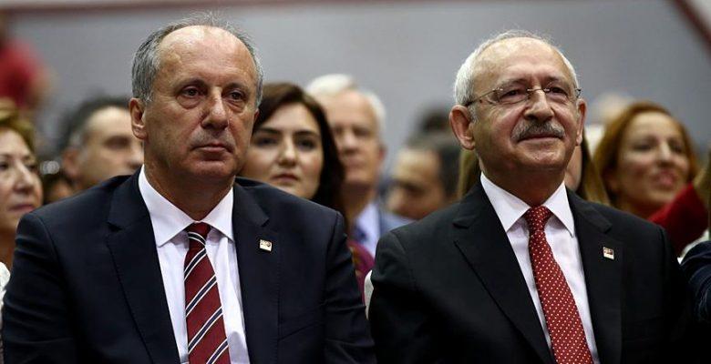 İnce, Kılıçdaroğlu'ndan randevu istedi.