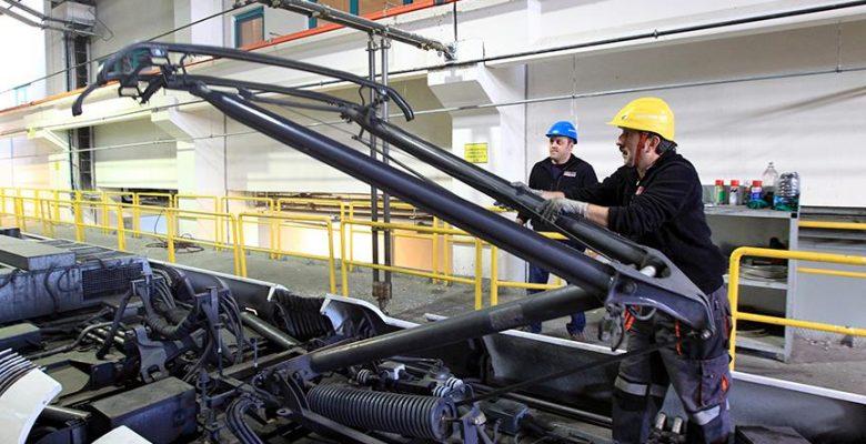 7200 avroluk tramvay parçası 6 bin liraya üretildi.