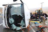 Malatya'da yolcu midibüsü devrildi: 7 ölü, 15 yaralı.