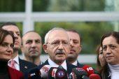 CHP Genel Başkanı Kılıçdaroğlu: Türkiye terör örgütlerinin yuvalanmasına asla izin vermemeli.