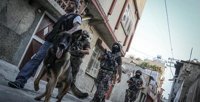 Muş'ta terör operasyonu: 10 gözaltı.