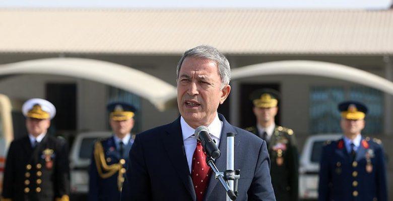 Milli Savunma Bakanı Akar: Münbiç ve Fırat'ın doğusu konusunda yoğun şekilde çalışıyoruz.