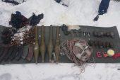 Terör örgütüne yönelik operasyonlarda tanksavar roket ele geçirildi.