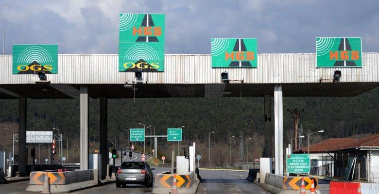 Köprü ve otoyollardan 11 ayda 1 milyar 593 milyon lira gelir.