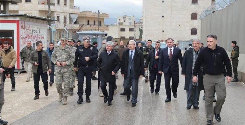 Vali Doğan Afrin'de incelemelerde bulundu.