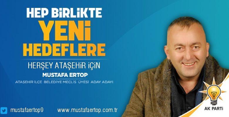 """Ataşehir Belediye Meclis üyesi Aday Adayı"""" Hizmet Hayatımızın Sadakası"""" olsun …"""