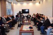 Ak parti Ataşehir Belediye Başkan Adayı İsmail ERDEM Basına  Ödüllü Projelerini Anlattı.