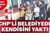 CHP'Lİ Başkan  Yardımcısı KUTLU İşçiye  'KENDİNİ YAK' Dedi…