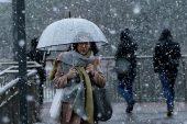 Marmara'ya kar geliyor.