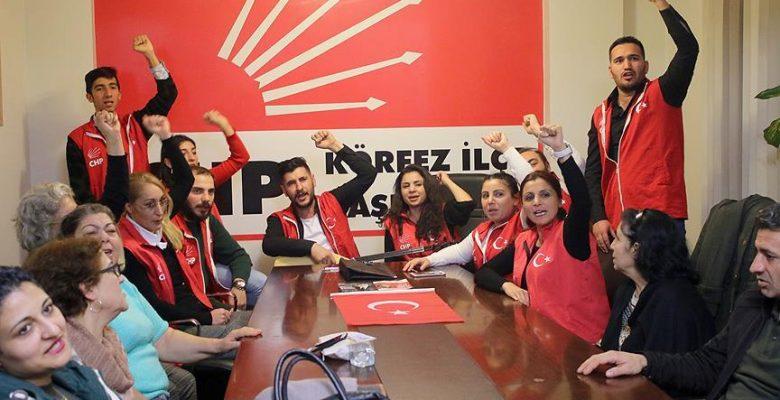 Kocaeli'de CHP'lilerden aday tepkisi.