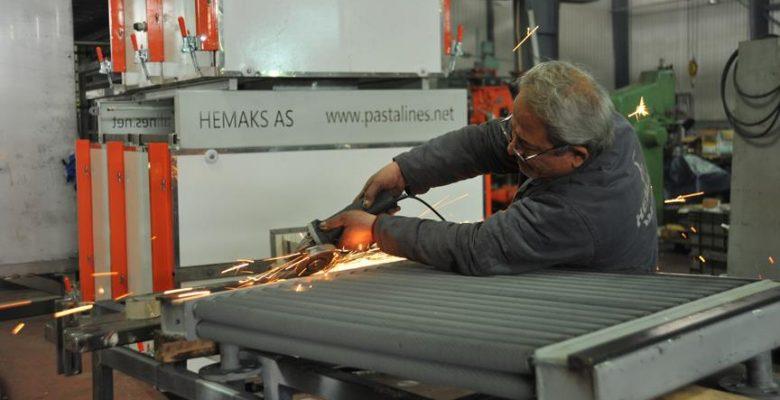 Gaziantep'ten 45 ülkeye makarna ve tekstil makinesi ihracatı.
