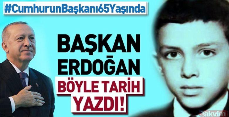 Galeri Güncel Bugün Başkan Recep Tayyip Erdoğan'ın doğum günü! İşte Erdoğan'ın yaşamı ve siyasi kariyeri.