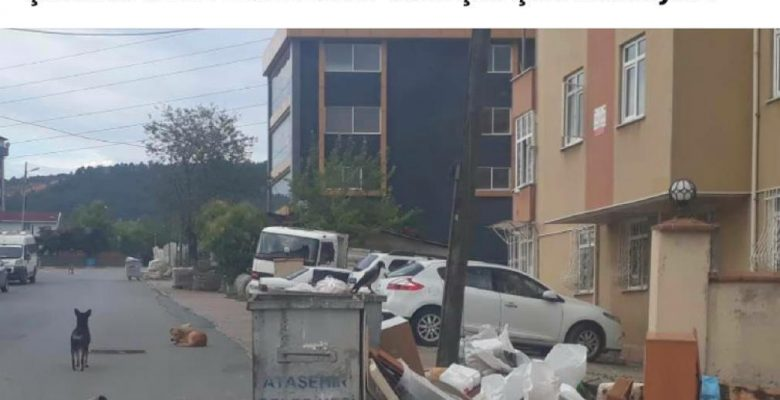 """Chp Ataşehir Belediye Başkan Adayı """"Çöplerinizi Topladım ,Bunla Mutlu Olun.."""""""