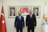 Ataşehir'in Akparti Yeni İlçe Teşkilat Başkanı Mehmet Emin Özkaya Oldu
