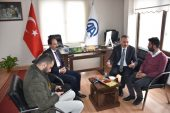 DSP Kars Belediye Başkan Adayı Alibeyoğlu'ndan Aa'ya Ziyaret.