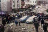 İstanbul Kartal'da 8 katlı bina çöktü: 1 ölü.