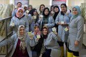 Türk ve Suriyeli kadınlar Halep sabununu Mardin'de üretiyor.