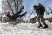 Kahramanmaraş'ın iki ilçesinde eğitime kar engeli.
