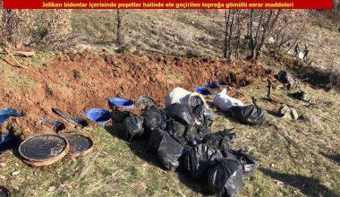Diyarbakır'da 5 ton esrar ele geçirildi.