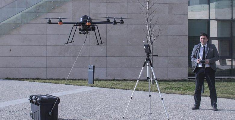 Teknolojiyle kara ve hava gücü birleşti.