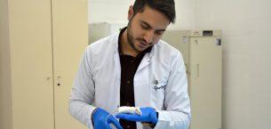 Deney hayvanı üretim merkezi üniversitelerin talebini karşılıyor.