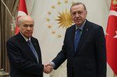 Erdoğan ile Bahçeli bir araya geldi.