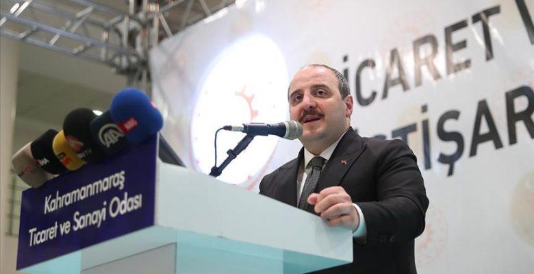 Sanayi ve Teknoloji Bakanı Varank: Üretimin ithal bağımlılığını azaltmayı hedefliyoruz.