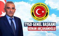 Türkiye Yerel Gazeticiler Derneği Genel Başkanı Kenan Akçahanoğlu'nundan Açıklama.