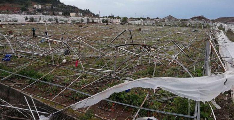 Afet mağduru çiftçiye 1,1 milyar liralık hasar tazminatı.