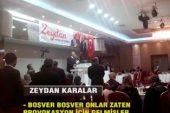 CHP'li Zeydan Karalar şehit eşi Gülcan Demiryürek'i salondan kovdu!.