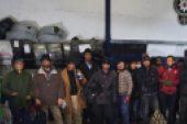 Van'da 32 düzensiz göçmen yakalandı.
