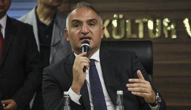 Bakan Ersoy açıkladı: Artış bekleniyor.