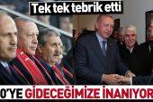 """Başkan Erdoğan'dan A Milli Takım'a tam destek! """"2020'ye gideceğimize inanıyorum""""."""
