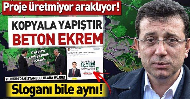 CHP'nin İstanbul adayı: Kopyala yapıştır Ekrem İmamoğlu.