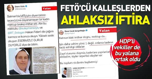 """FETÖ'cü hainlerin """"Batman'da tecavüze uğrayan Ayşe Arslanoğlu intihar etti"""" yalanına valilikten cevap!."""