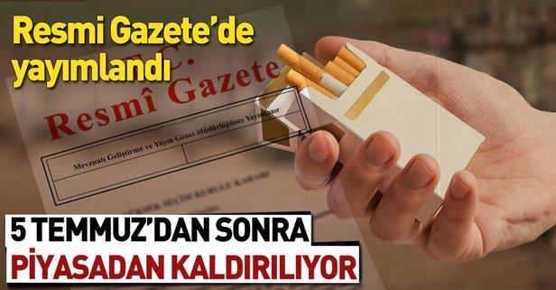 Sigara paketine yeni düzenleme Resmi Gazete'de yayımlandı!.