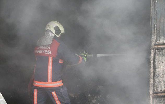 Ankara'da yangın faciası! Ölü ve yaralılar var.