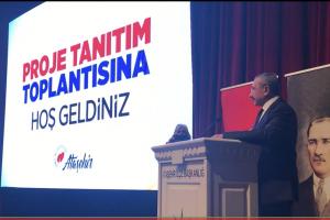 Ak Parti Ataşehir Belediye Başkan Adayı İsmail Erdem'in Proje Tanıtımı..