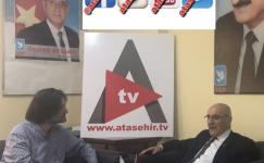 DSP Ataşehir Belediye Başkan Adayı Levent Lİmon;  Halkın içinde Olacağım…