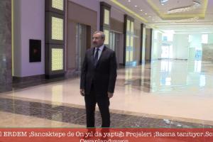 Akparti Ataşehir Belediye Başkan adayı İsmail ERDEM ,Sancaktepede Basına projelerine Soru ve Cevap .