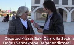 Gazeteci Yazar Baki Özışık İle Seçime Doğru Ataşehir'den Sancaktepe Değerlendirmesi..