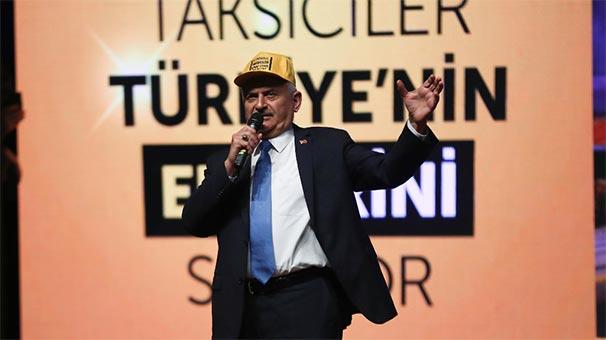 Binali Yıldırım: İstanbullu taksiye binecek, korsandan inecek.