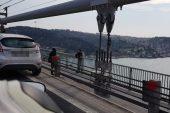 Son dakika… 15 Temmuz Şehitler Köprüsü'nde intihar girişimi.