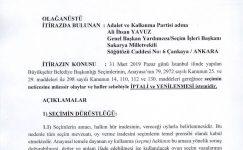 İşte AK Parti'nin İstanbul seçimlerinin iptali için YSK'ya verdiği 44 sayfalık olağanüstü itiraz dilekçesi.