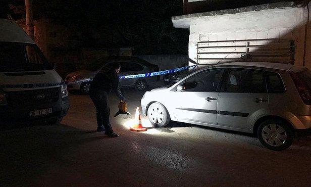 İzmir'de silahlı saldırı! Polis soruşturma başlattı.