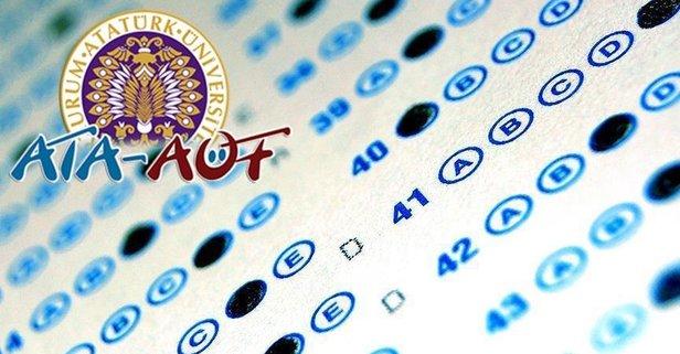 ATA AÖF vize sınav sonuçları ne zaman açıklanır? 2019 ATA AÖF sonuçları için tarih belli oldu mu?.