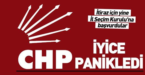 CHP iyice panikledi! İl Seçim Kurulu'na itiraz için yine başvurdu.