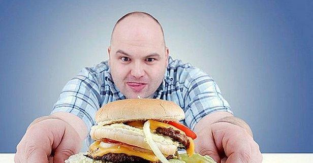 Hamburger karaciğeri üzer.