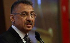 Son dakika: Cumhurbaşkanı Yardımcısı Fuat Oktay: Güçlü Türkiye olmaya devam edeceğiz.