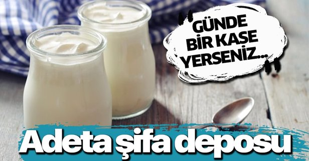 Yoğurt şifa saçıyor! Günde bir kase yoğurt mutlaka tüketin.